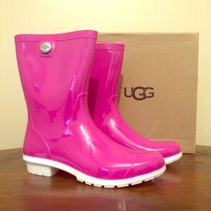 NEW UGG Sienna Rain Boot, Pink SZ 9